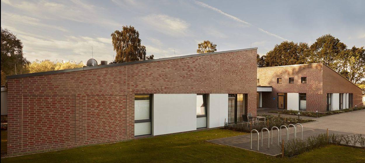 Objektbild Vormauerklinker Klosterhof Bunt Retro NF